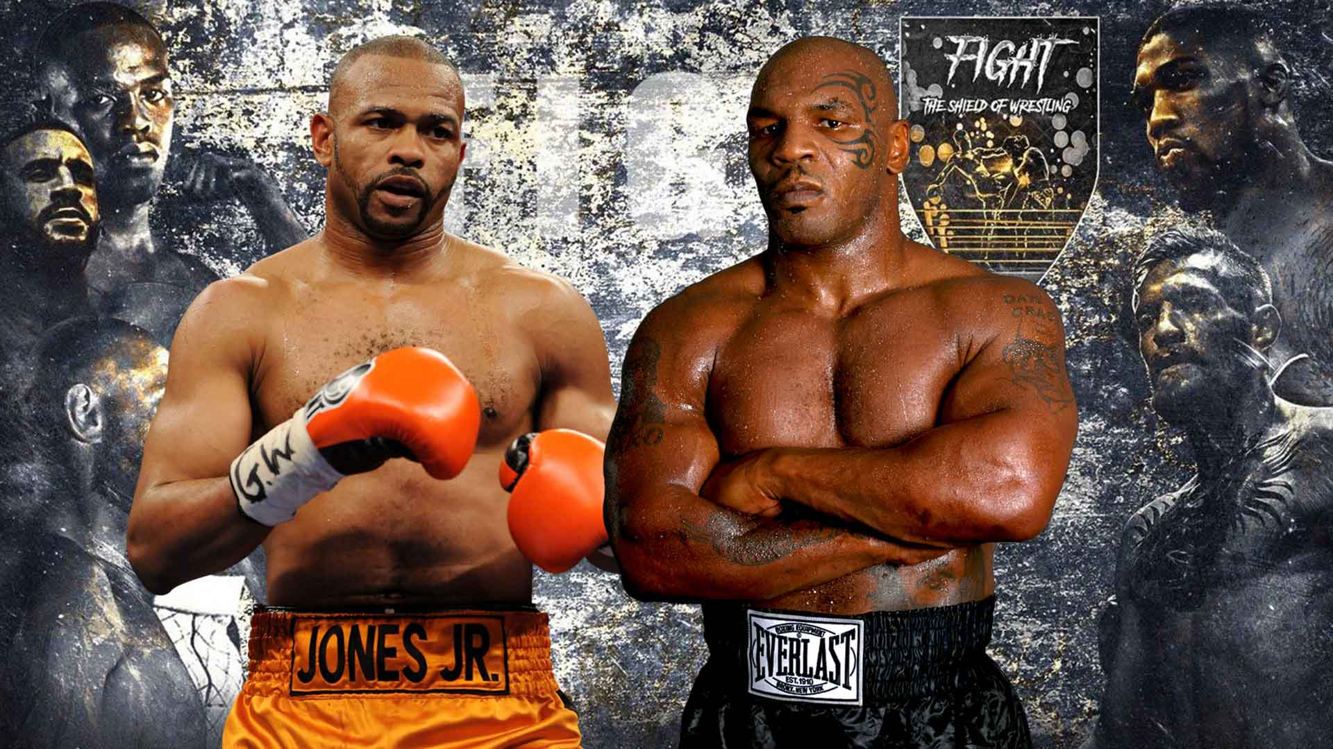 The Best Mike Tyson Vs Roy Jones Belt