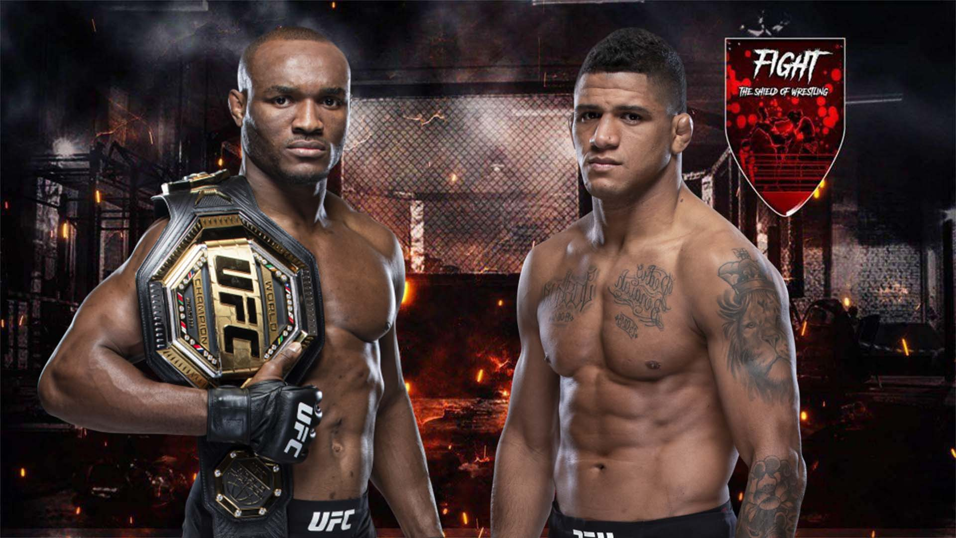 Kamaru Usman vs Gilbert Burns sarà il main event di UFC 258