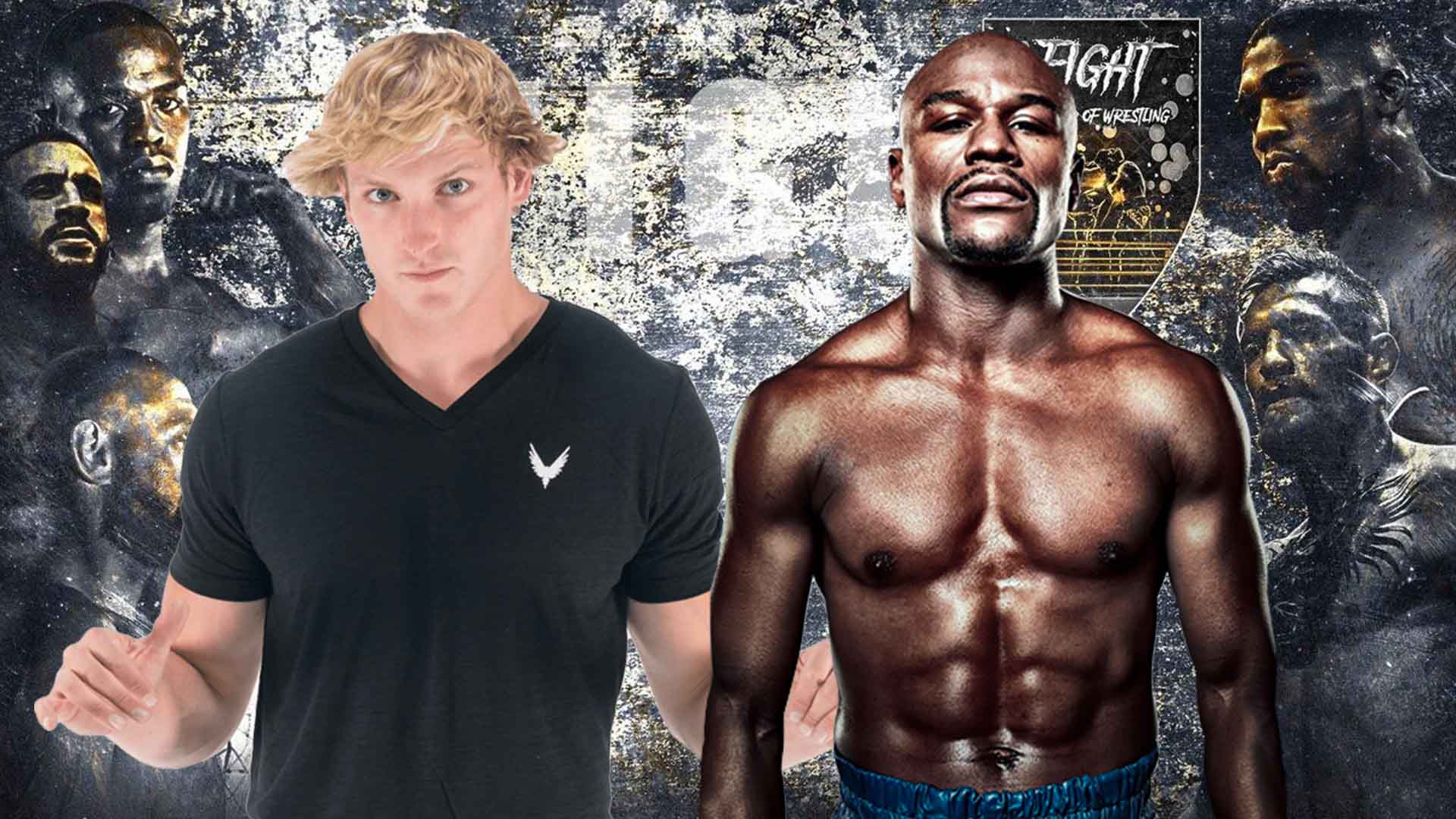 Floyd Mayweather vs Logan Paul: intenso face-off tra i due