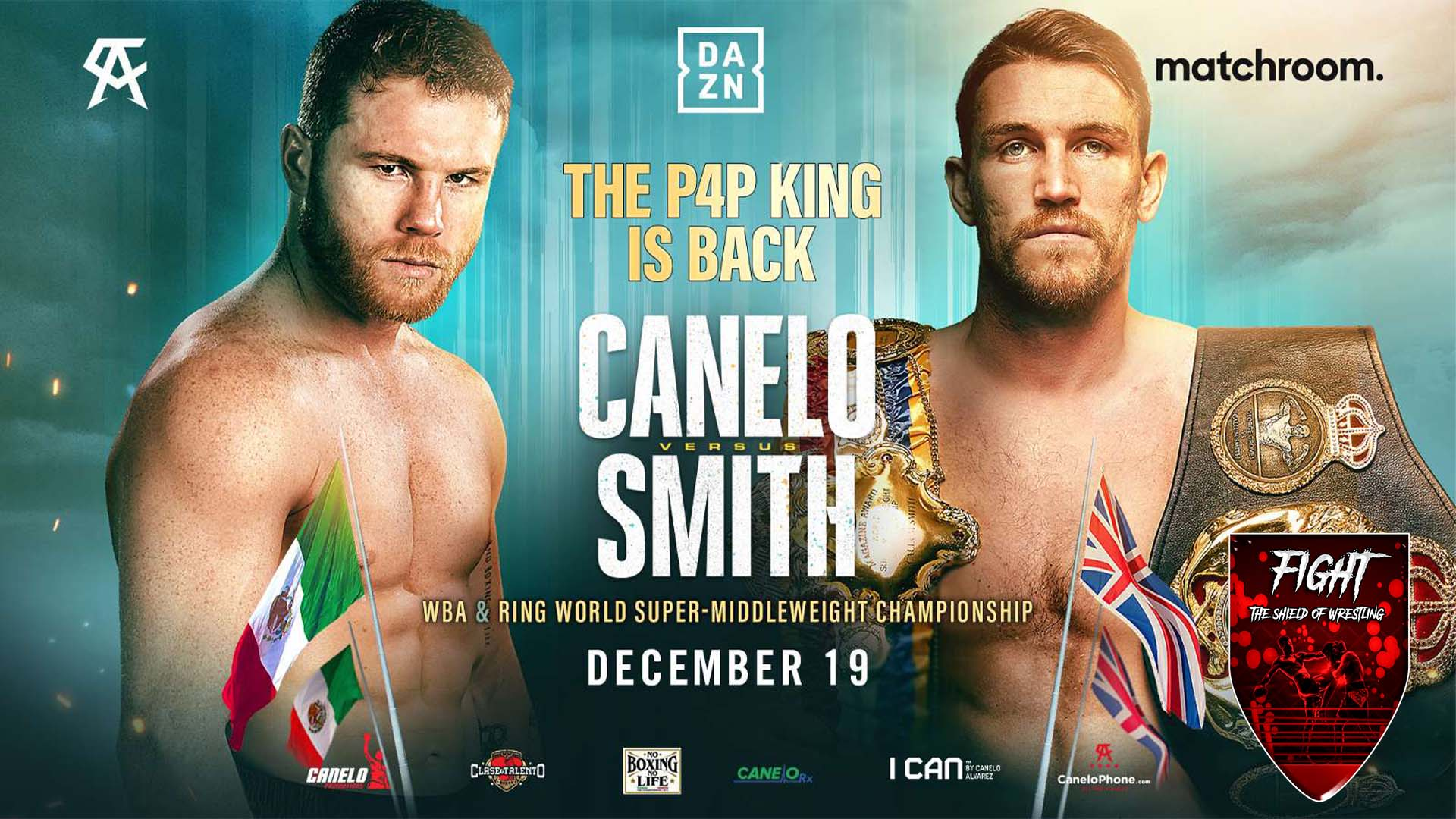 Anteprima Canelo Alvarez vs Callum Smith – card completa