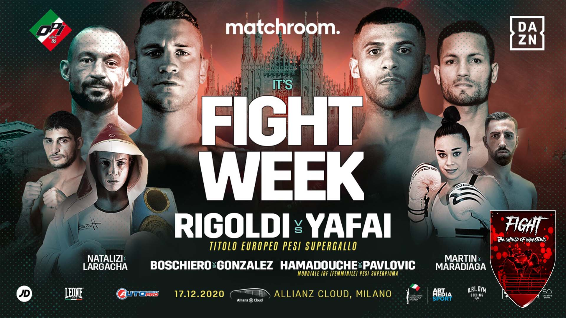 Milano Boxing Night: Rigoldi vs Yafai risultati live