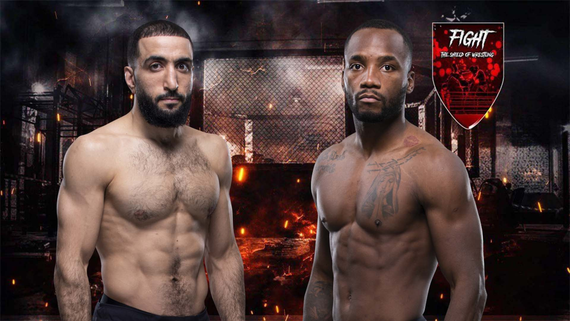 Leon Edwards vs Belal Muhammad termina in No Contest